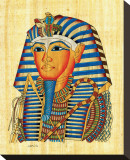 King Tutankhamun Stretched Canvas Print