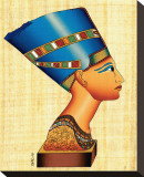 Bust of Nefertiti Stretched Canvas Print
