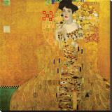 Gustav Klimt - Portrait of Adele Bloch-Bauer I, c.1907 Reprodukce na plátně