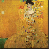 Portrait of Adele Bloch-Bauer I, c.1907 Stretched Canvas Print by Gustav Klimt
