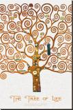 The Tree of Life Pastiche Marzipan Sträckt Canvastryck av Gustav Klimt