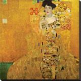 Portrait of Adele Bloch-Bauer I, c.1907 Reproducción en lienzo de la lámina por Gustav Klimt