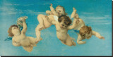 Birth of Venus (detail) Stretched Canvas Print by Alexandre Cabanel