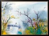 Amantes em Chi Tou Impressão giclée emoldurada por Chi Wen