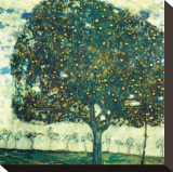 Apple Tree II, c.1916 Reproduction transférée sur toile par Gustav Klimt