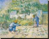 First Steps, c.1890 Leinwand von Vincent van Gogh