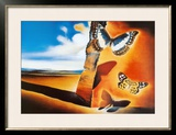 Landscape with Butterflies Prints by Salvador Dalí