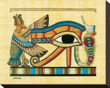 The Eye of Horus Stretched Canvas Print