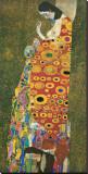 La esperanza II Reproducción de lámina sobre lienzo por Gustav Klimt
