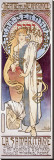 La Samaritaine Stretched Canvas Print by Alphonse Mucha