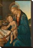 La Vergine col Figlio Stretched Canvas Print by Sandro Botticelli