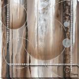 Whirligig II Stretched Canvas Print by Tamara Angeney