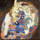 The Virgin, c.1913 Stretched Canvas Print by Gustav Klimt