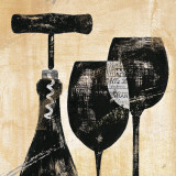 Wine Selection II Plakater af Daphne Brissonnet