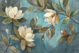 Floating Magnolias Kunstdrucke von Albena Hristova