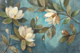 Floating Magnolias Prints by Albena Hristova