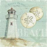 Maison de plage1 Poster par Lisa Audit
