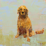 Golden Dog No. 2 Prints by Rebecca Kinkead