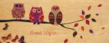 Good Night Owl Print by Wild Apple Portfolio