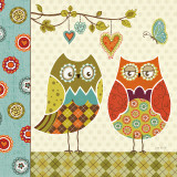 Owl Wonderful I Art by Lisa Audit