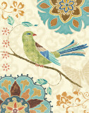 Eastern Tales Birds II Posters par Daphne Brissonnet