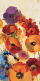 Joyful Garden Panel III Posters by Silvia Vassileva