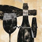 Wine Selection I Poster par Daphne Brissonnet
