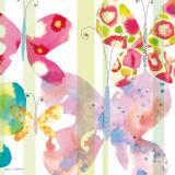 Butterfly Square II Posters av Maria Carluccio