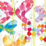 Butterfly Square I Prints by Maria Carluccio