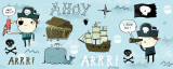 Ahoy Matey I Poster by Mike Lowery
