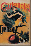 Guignolet Cointreau Stretched Canvas Print