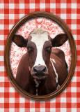 Portrait de Vache Posters by Florence Deviller