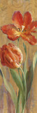 Parrot Tulips on Gold II Prints by Danhui Nai