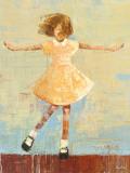 Twirl Posters by Rebecca Kinkead