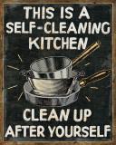 Self Cleaning Kitchen Kunstdrucke von  Pela