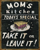 Mom's Kitchen Print by  Pela