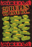 20 Rules to Live By Photographie