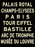 Paris Sign Print