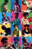 Jimi Hendrix Colors Prints