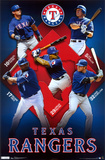 Rangers Collage Póster