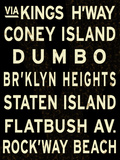 Brooklyn Sign Giclee Print