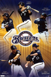 Brewers Collage Poster