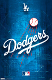 Los Angeles Dodgers Logo Posters