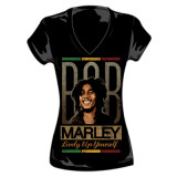Juniors:  Bob Marley - Lively Up T-shirts