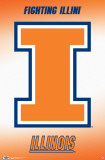 University of Illinois - Logo Plakater