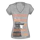 Juniors: John Lennon - Dreamer Stripes T-Shirt