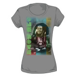 Juniors:  Bob Marley - One Love Block T-Shirt