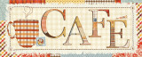 Patchwork Cafe I Prints by Pela 