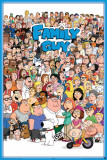 Family Guy Cast 2011 Poster