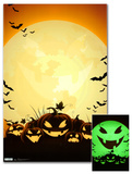 Nightmare Before Christmas - Scary -Glow in the Dark Print